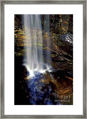 Natures Shower Stall Framed Print by Paul W Faust -  Impressions of Light