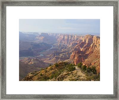 Natures Touch Framed Print