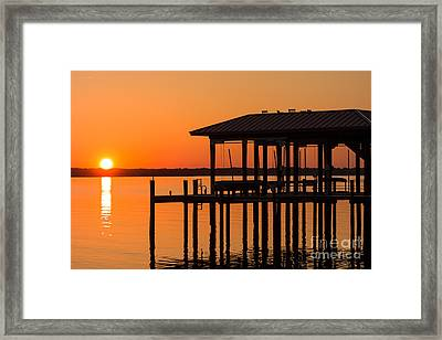 Natures Tranquility Framed Print