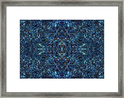 Magic Of Intricacy Framed Print