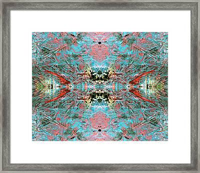 Crystallizing Energy Framed Print