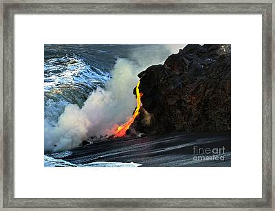 Natures Way Framed Print by Karl Voss
