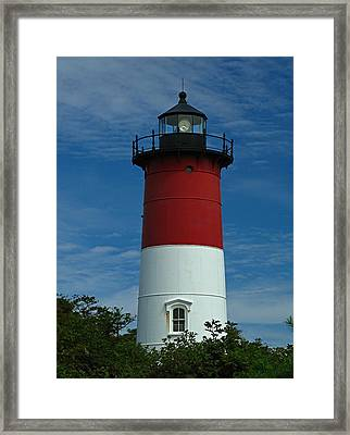 Nauset Beach Lighthouse Framed Print by Juergen Roth