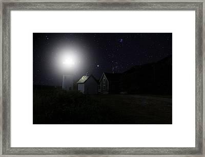Nauset Light Framed Print by Andrea Galiffi
