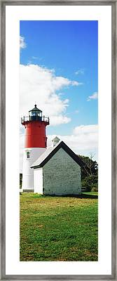 Nauset Lighthouse, Nauset Beach Framed Print by Panoramic Images