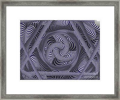 Nautical Coloured Design Framed Print