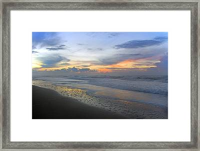 Nautical Rejuvenation Framed Print by Betsy Knapp