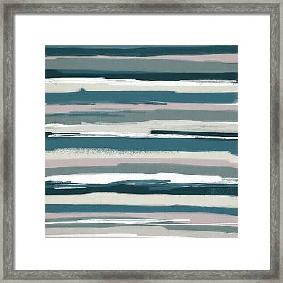 Nautical Sense Framed Print by Lourry Legarde