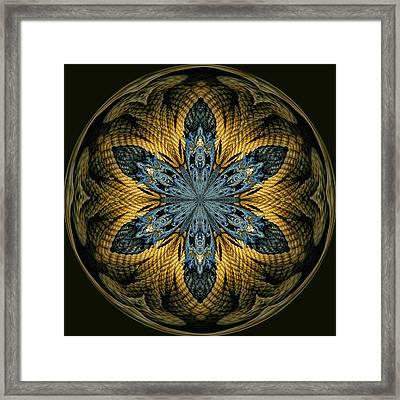 Nautical Star Framed Print by Cindi Ressler