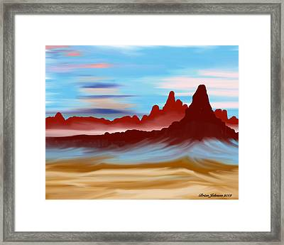 Navajo Framed Print by Brian Johnson