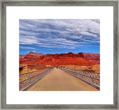 Navajo Bridge Framed Print by Dan Sproul