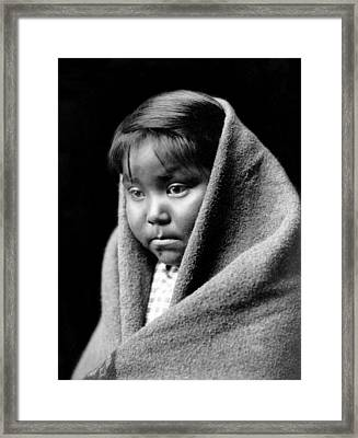 Navajo Child Framed Print