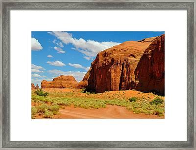 Navajo Country Framed Print