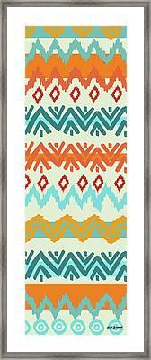 Navajo Missoni I Framed Print by Nicholas Biscardi