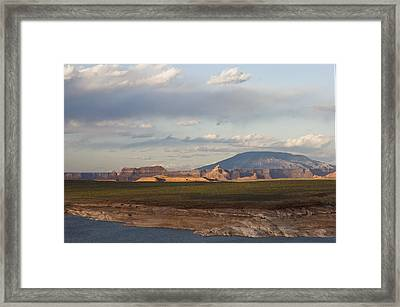 Navajo Mountain View Framed Print