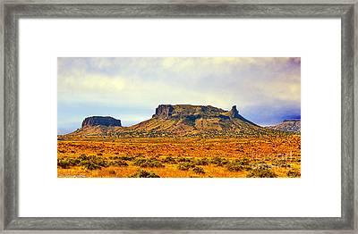 Navajo Nation Monument Valley Framed Print by Bob and Nadine Johnston