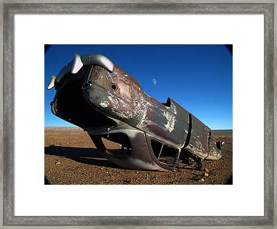 Framed Print featuring the photograph Navajo Reservation 10 by Jeff Brunton