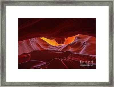 Navajo Wonder Framed Print by Marco Crupi