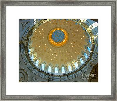 Naval Academy Chapel Side Dome Framed Print