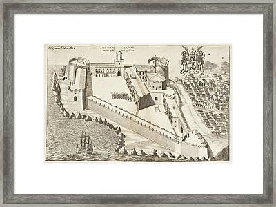 Naval Fortress Framed Print by British Library