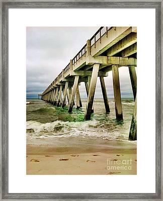 Navarre Pier Framed Print