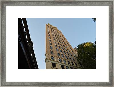 Framed Print featuring the photograph Navarro St Illusion by Shawn Marlow