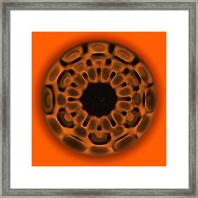 Navel Sacral Chakra Framed Print by CymaScope