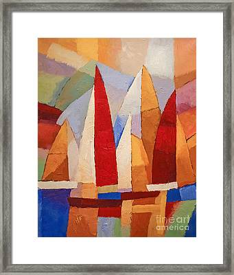 Navigare Framed Print by Lutz Baar