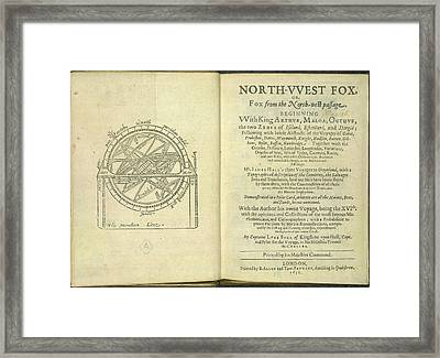 Navigational Diagram Framed Print by British Library