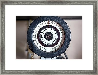 Navigational Equipment Framed Print by Ashley Cooper