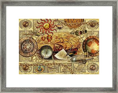 Navigationes Framed Print by Mo T