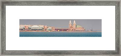 Navy Pier Brief Framed Print by Cliff C Morris Jr