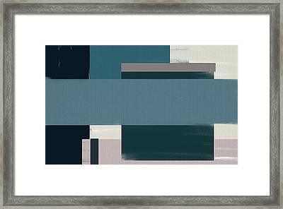 Navy Silence Rectangular Format Framed Print by Lourry Legarde