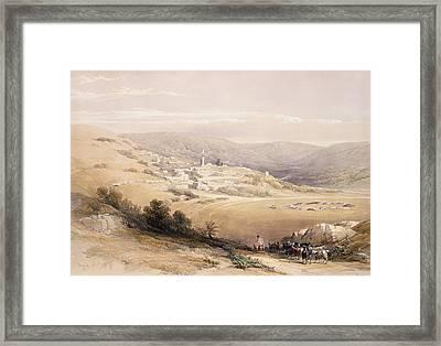 Nazareth Framed Print by David Roberts