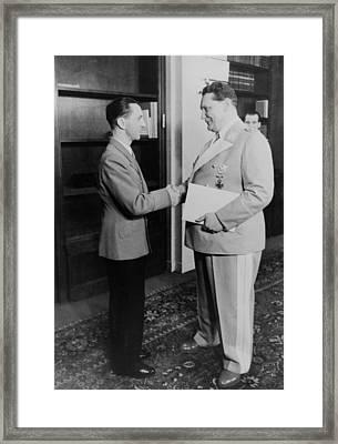 Nazi Leaders, Hermann Goering Framed Print