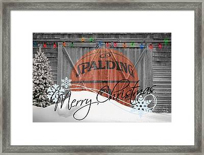 Nba Basketball Framed Print