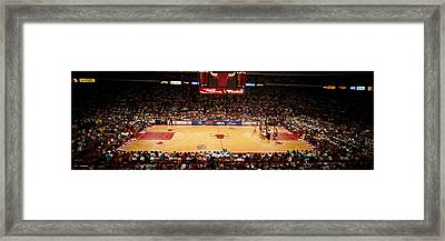 Nba Finals Bulls Vs Suns, Chicago Framed Print by Panoramic Images
