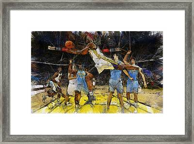 NBA Framed Print