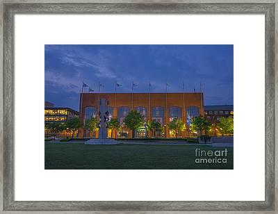 Ncaa Hall Of Champions May 2013 Framed Print by David Haskett