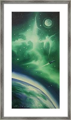 Ncg - 1016 Framed Print by James Christopher Hill