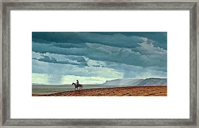 Near Carlesbad Framed Print by Paul Krapf