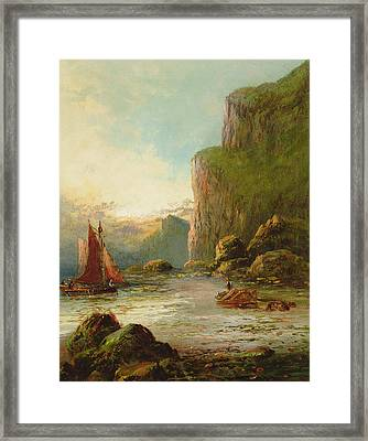 Near Dawlish South Devon Framed Print by Frank Hider