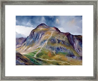Near Hawkshead Lake District Framed Print
