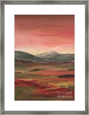 Near Keswick England Framed Print