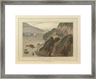 Near Kingswear Framed Print by British Library