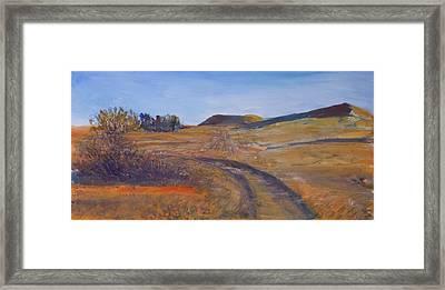Near Lark Framed Print by Helen Campbell
