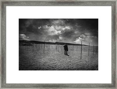 Near Life Syndrome Framed Print