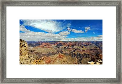 Near Perfect Day Framed Print