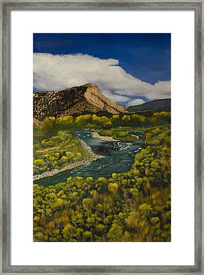 Near Pilar Framed Print by Jack Atkins
