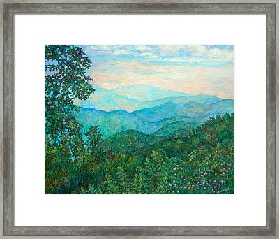 Near Purgatory Framed Print